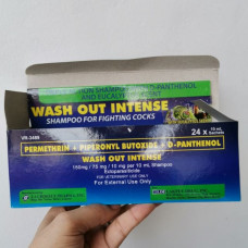 Wash Out Box (24 Sachet) 10 ml Shampoo