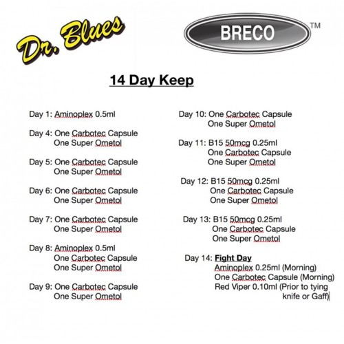 Breco/Dr Blues Conditioning Method Set 02 - 14 Day Keep