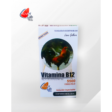 Vitamina B12 5500 Codigo Rojo 100ml - RiverLab
