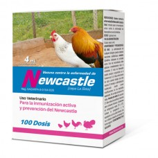 NEWCASTLE VACCINE WITH 100 DOSES (4 ML)
