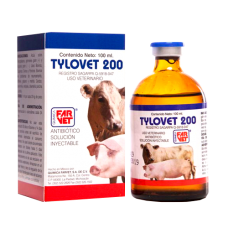 TyloVet 200 (Generic Tylan 200) - 250 ml