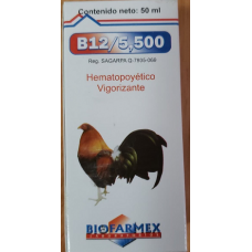 B12 5500 -50ml - Product of BIOFARMEX